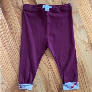 Burberry Toddler pants 2T
